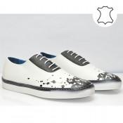 Бели мъжки спортни обувки M1331BN