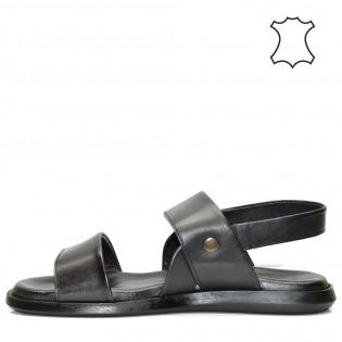 Мъжки черни сандали