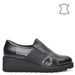 Ежедневни кожени обувки - естествена кожа - 1029A16