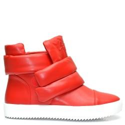 Червени дамски спортни боти - 419KE16r