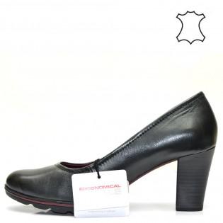 Елегантни немски дамски обувки в черен цвят - Tamaris 22425DT16