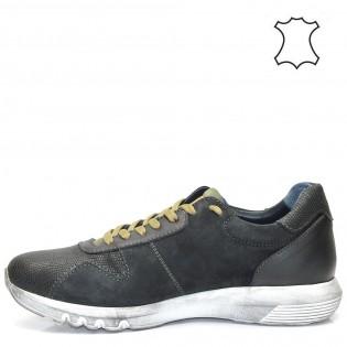 Мъжки спортни обувки в черно M198bn
