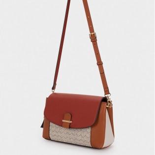 Дамска чанта на PARFOIS с висящи орнаменти  - 174575