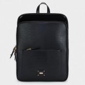 Дамска чанта, тип раница на PARFOIS в черен цвят - 174671