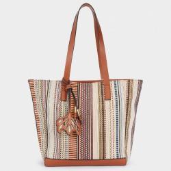 Дамска чанта с изваждаща се вътрешна част 2 в 1 на PARFOIS - 174763