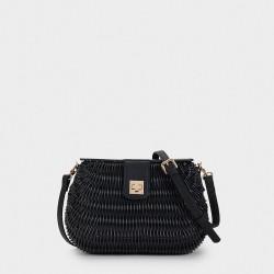 Дамска плетена чанта на PARFOIS - 175185