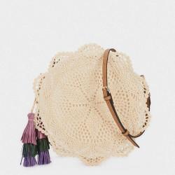 Плетена дамска чанта на PARFOIS - 175527
