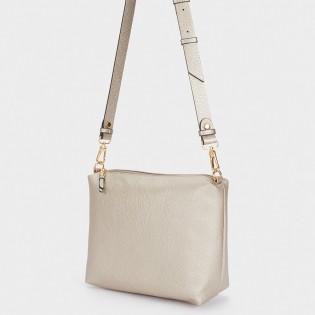 Двулицева дамска чанта - 3 в 1 на PARFOIS - 175980