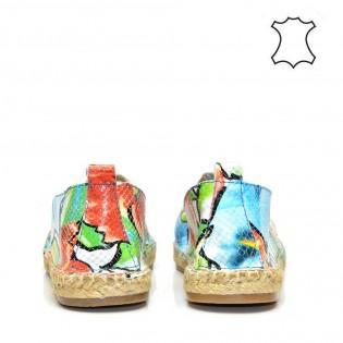 Еспадрили - дамски спортни обувки естествена кожа