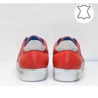 Червени мъжки спортни обувки M1401BNr