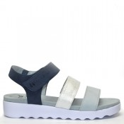 Ортопрдични, олекотени дамски сандали 28264jb сини.