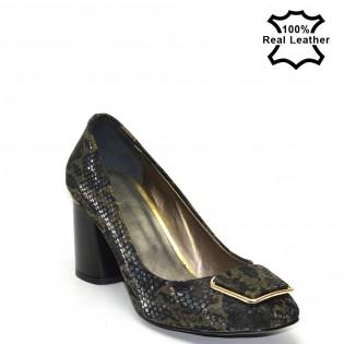 Елегантни на висок ток дамски обувки F102