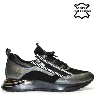 Дамски спортни обувки - маратонки F419