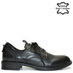 Дамски ежедневни-спорти обувки естествена кожа L0114