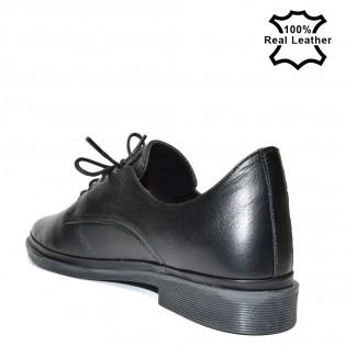 Дамски ежедневни-спорти обувки естествена кожа L1125