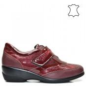 Бордо - ортопедични дамски обувки естествена кожа 40bg16b.