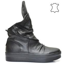 Дамски спортни обувки - кецове от естествена кожа 53BI16