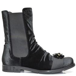 Екстравагантни дамски боти - обувен плюш 690BN16