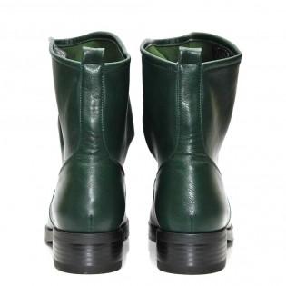 Дамски боти - маслено зелени 111ke17z