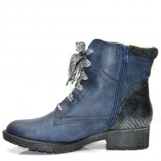 Сини дамски зимни боти JANA - тип турист 25261DJ17s